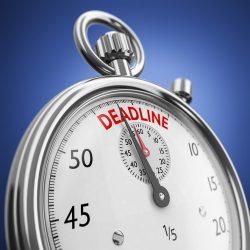 Requirement to Correct deadline