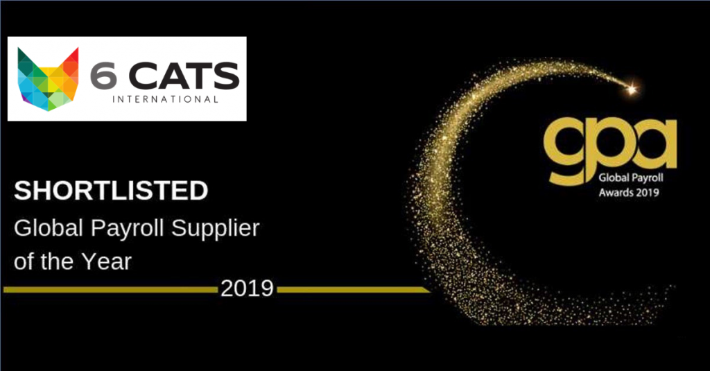 Global Payroll Supplier of the Year shortlisted