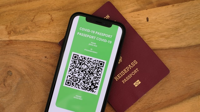 Covid passport travel restrictions for contractors